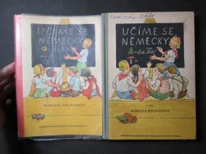 náhled knihy - Učíme se německy 1. a 2. díl