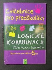 náhled knihy - Zábavná cvičebnice pro předškoláky. Logické kombinace