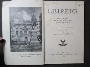 náhled knihy - Leipzig. Ein führer für fremde und einheimische