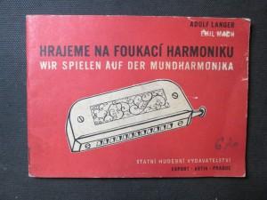 náhled knihy - Hrajeme na foukací harmoniku