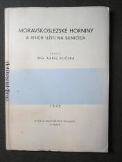 náhled knihy - Moravskoslezské horniny a jejich užití na silnicích