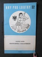 náhled knihy - Hry pro loutky 32. Kratochvíle s Kacafírkem