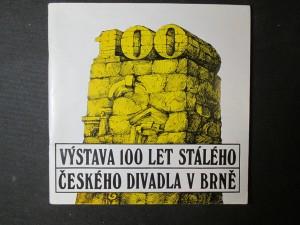 náhled knihy - Výstava 100 let stálého Českého divadla v Brně