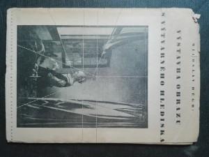 náhled knihy -  Výstavba obrazu s výtvarného hlediska (Poznámky o technické a barevné komposici)