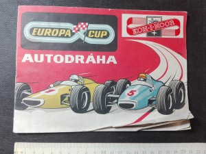 náhled knihy - Autodráha Europa Cup KOH-I-NOOR