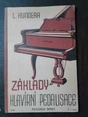 náhled knihy - Základy klavírní pedalisace