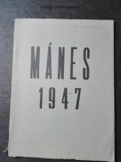 náhled knihy - Mánes 1947