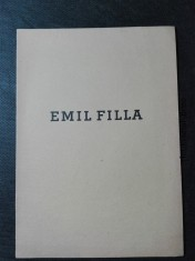 náhled knihy - Emil Filla - obrazy a kresby z let 1938-1939
