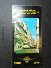 náhled knihy - Sedmdesát pět městské hromadné dopravy v Jablonci nad Nisou