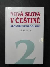 náhled knihy - Nová slova v češtině - slovník neologizmů 2