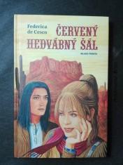 náhled knihy - Červený hedvábný šál
