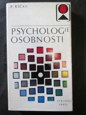 náhled knihy - Psychologie osobnosti