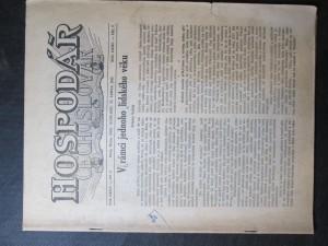 náhled knihy - Hospodář Čechoslovák, Vol. LXXV, No. 2