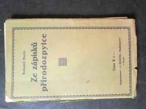 náhled knihy - Ze zápisků přírodozpytce