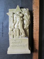náhled knihy - Soška ke 40. výročí osvobození