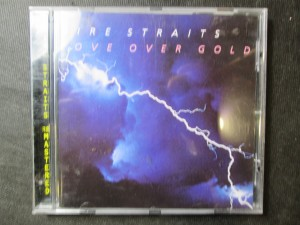 náhled knihy - Dire Straits - Love over gold