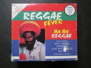 náhled knihy - Reggae fever. Hot Hot Reggae 3CD