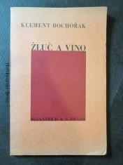 náhled knihy - Žluč a víno