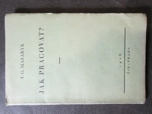 náhled knihy - Jak pracovat? přednášky z roku 1898