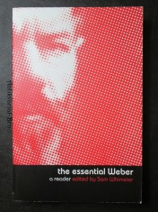náhled knihy - The essential Weber. A reader edited by Sam Whimster