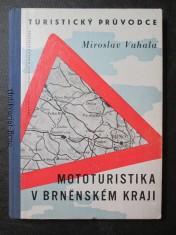 náhled knihy - Turistický průvodce. Mototuristika v brněnském kraji
