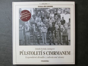 náhled knihy - Půlstoletí s Cimrmanem : legendární divadlo z odvrácené strany