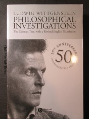 náhled knihy - Philosophical Investigations. The German text, with a revised english translation