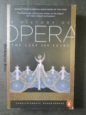 náhled knihy - A history of opera. The last 400 years