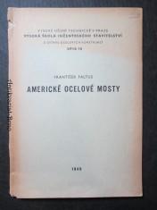 náhled knihy - Americké ocelové mosty