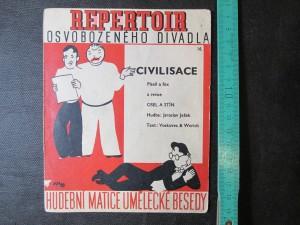 náhled knihy - Repertoir osvobozeného divadla