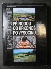 náhled knihy - Přírodou od Krkonoš po Vysočinu : regionální encyklopedie