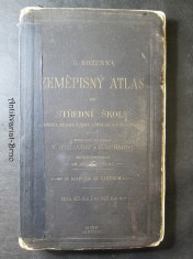 náhled knihy - Zeměpisný atlas pro střední školy (gymnasia, realky, ústavy učitelské školy obchodní)