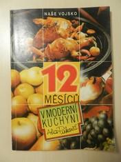 náhled knihy - 12 měsíců v moderní kuchyni