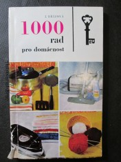 náhled knihy - 1000 rad pro domácnost
