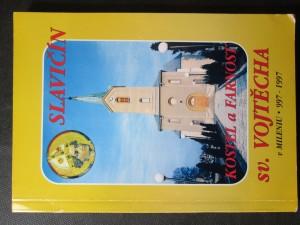 náhled knihy - Slavičín : historie kostela a farnosti sv. Vojtěcha