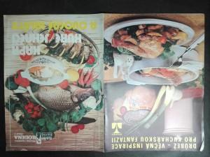 náhled knihy - Kapr - kuře - jehnečí  a ovocné saláty. Příloha časopisu Naše rodina, č. 2