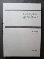 náhled knihy - Deskriptivní geometrie II