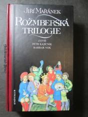 náhled knihy - Rožmberská trilogie - Záviš, Petr Kajícník, Barbar Vok
