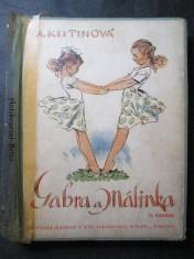 náhled knihy - Gabra a Málinka. Povedené dcerky