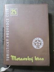 náhled knihy - Moravský kras. Turistický průvodce ČSSR 25