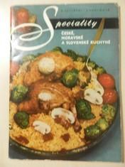 náhled knihy - Speciality české, moravské a slovenské kuchyně