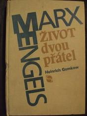 náhled knihy - Život dvou přátel : Životopis Karla Marxe a Bedřicha Engelse