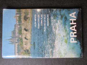 náhled knihy - Praha - plán města 1: 20 000