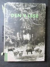 náhled knihy - Den v lese : knížka o lesní zvěři v horách