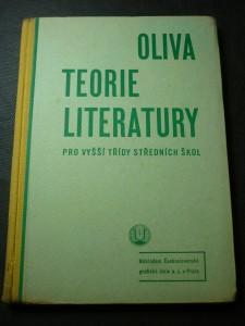 náhled knihy - Teorie literatury pro vyšší třídy středních škol