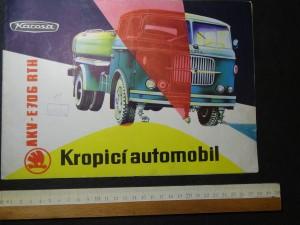 náhled knihy - Kropicí automobil. AKV - E706 RTH