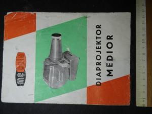 náhled knihy - Diaprojektor Medior