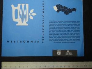 náhled knihy - Westböhmen Tschechoslowakei