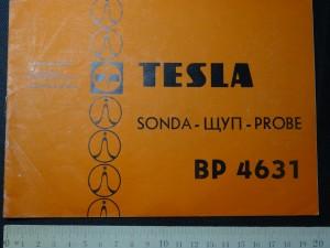 náhled knihy - Tesla - Sonda BP 4631