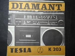 náhled knihy - Diamant - Tesla K203